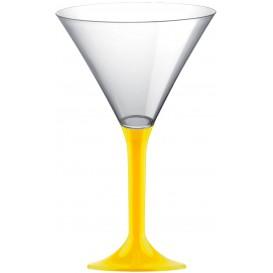 Plastic stamglas Cocktail geel 185ml 2P (200 stuks)