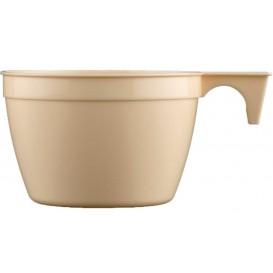 Taza de Plastico PP Cup Beige 90ml (900 Uds)