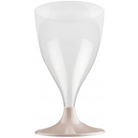 Plastic stamglas wijn beige 200ml 2P (400 stuks)