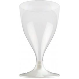 Plastic stamglas wijn wit parel 200ml 2P (20 stuks)