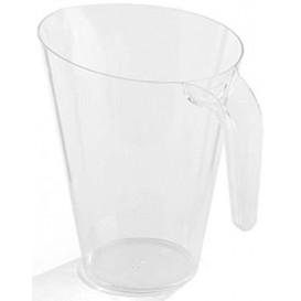 Plastic pot PS Herbruikbaar transparant 1.500 ml (1 stuk)