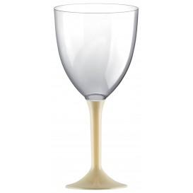 Plastic stamglas wijn crème verwijderbare stam 300ml (200 stuks)