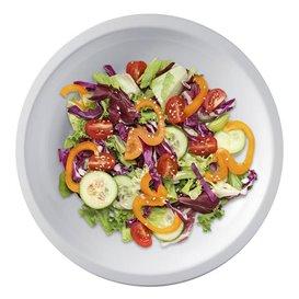 Plato de Plastico Llano Blanco Round PP Ø220mm (300 Uds)