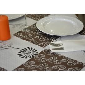 """Voorgesneden papieren tafelkleed """"magnolia Nem (400 stuks) a"""" 37g 1x1m (400 stuks)"""