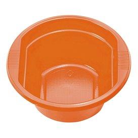 Plastic Kom PS oranje 250ml Ø12cm (30 stuks)
