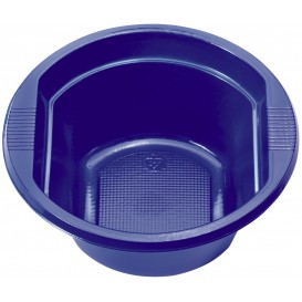 Plastic Kom PS donkerblauw 250 ml Ø12cm (30 stuks)