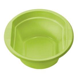 Bol de Plastico PS Verde Lima 250ml Ø12cm (660 Uds)