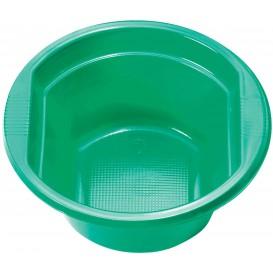 Bol de Plastico PS Verde 250ml Ø12cm (30 Uds)