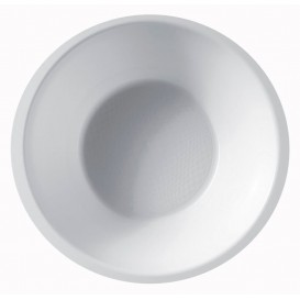Plastic Kom PP wit 450ml Ø15,5cm (50 stuks)