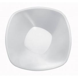Bol de Plastico Blanco Square PP Ø210mm 1250ml (3 Uds)