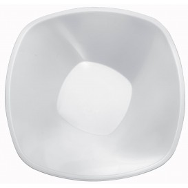 "Plastic Kom PP wit ""Vierkant"" 3000ml Ø27,7cm (3 stuks)"