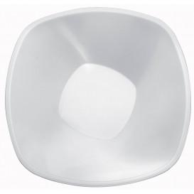"Plastic Kom PP wit ""Vierkant"" 3000ml Ø27,7cm (30 stuks)"