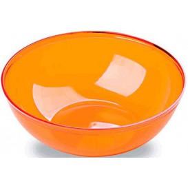 Plastic Kom PS Kristal Hard oranje 3500ml Ø27cm (1 stuk)