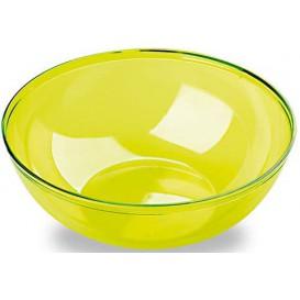 Plastic Kom PS Kristal Hard groen 3500ml Ø27cm (1 stuk)