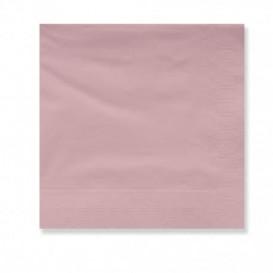Papieren servet zalm rand 2 laags 30x30cm (4500 stuks)