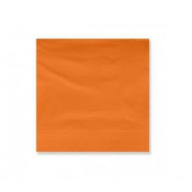 Papieren servet terracotta rand 20x20cm 2C (6000 stuks)