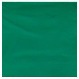 Servilleta de Papel Cenefa 25x25cm Verde (3600 Uds)