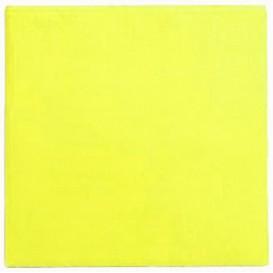 Papieren servet geel 25x25cm (1400 stuks)