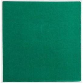 Papieren servet groen 25x25cm (1400 stuks)