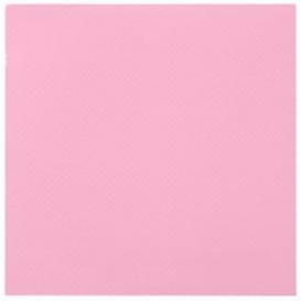Papieren servet dubbel punt roze 40x40cm (50 stuks)