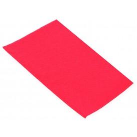 Papieren servet dubbel punt 1/8 fuchsia 40x40cm (50 stuks)