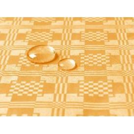 Tafelkleed rol Waterdicht goud 1,2x5m (1 stuk)