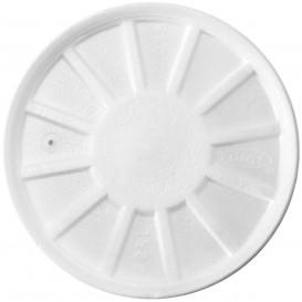 Schuim Ontluchtings Deksel wit Ø11,7cm (50 stuks)
