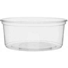 Tarrina de Plastico Transparente 200ml Ø10,5cm (50 Uds)
