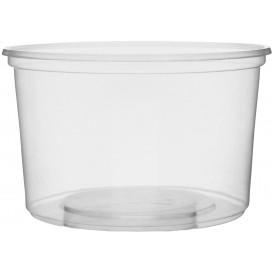 Tarrina de Plastico Transparente 300ml Ø10,5cm (1.000 Uds)