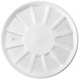 Schuim Ontluchtings Deksel wit Ø11cm (500 stuks)