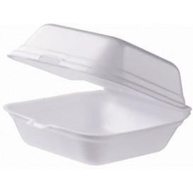 Envase Hamburguesa FOAM Grande Blanca (125 Uds)