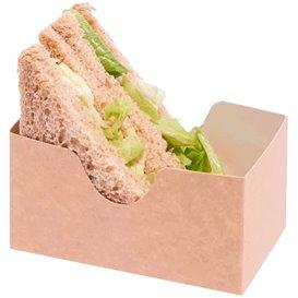 Papieren Sandwich Container kraft (1000 stuks)