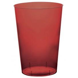 Vaso de Plastico Moon Burdeos Transp. PS 230ml (50 Uds)