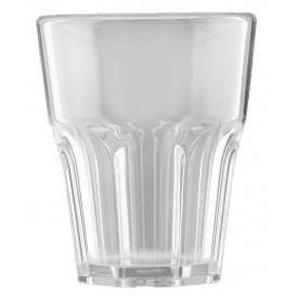 "Plastic glas SAN Herbruikbaar ""Rox"" transparant 300ml (8 stuks)"