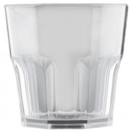 "Plastic glas SAN Herbruikbaar ""mini Drink"" transparant 160ml (96 stuks)"
