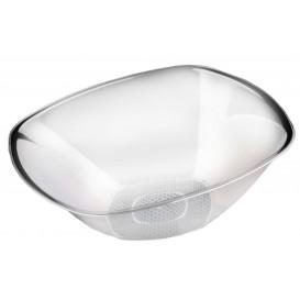 Bol de Plastico Transparente Ø277mm Square PS 3000ml (3 Uds)