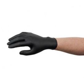 Nitril handschoenenen zwart maat L AQL 1.5 (1000 stuks)