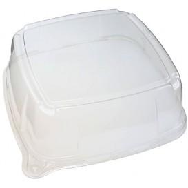 Plastic Deksel voor dienblad 27x27x8 cm (25 stuks)