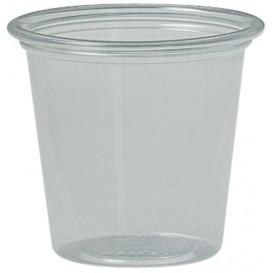 Plastic souffle beker PS transparant 37ml Ø4,8 cm (250 stuks)