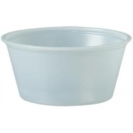 Plastic souffle beker PS transparant 100ml Ø7,3cm (2500 stuks)