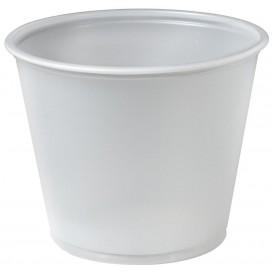 Plastic souffle beker PS transparant 165ml Ø7,3cm (250 stuks)