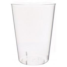 Plastic pint PS glas Geïnjecteerde glascider 600 ml (25 stuks)