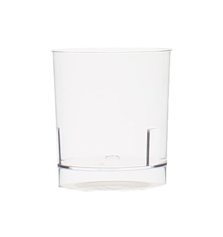 Plastic PS Shotje Geïnjecteerde glascider 33 ml (16 stuks)