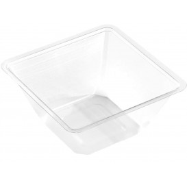Bol mini de Plástico PET 250ml 90x90x60mm (600 Uds)
