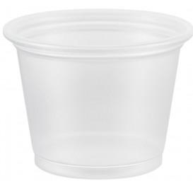 Plastic PP Soufflébeker transparant 30ml Ø4,8cm (125 stuks)