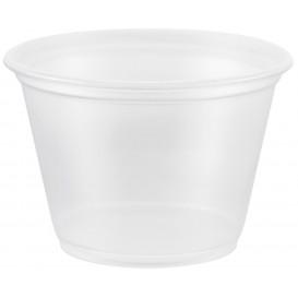 Plastic PP Soufflébeker transparant 75ml Ø6,6cm (2500 stuks)