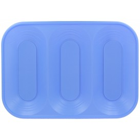 "Bandeja de Plastico PP ""X-Table"" 3C Violeta 330x230mm (30 Uds)"