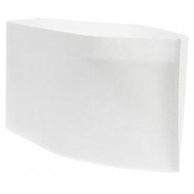Wegwerp koksmstuks Pill Box wit (100 stuks)