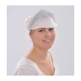 Wegwerp haarnetje vizier zonder haarclip (100 stuks)