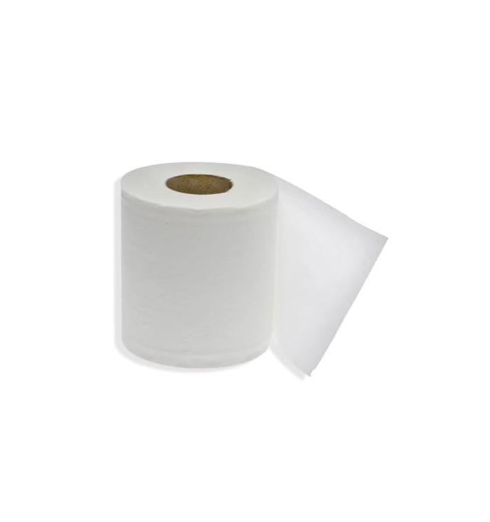 Papieren mini rol midden trekking 2 laags 0,56kg (12 stuks)